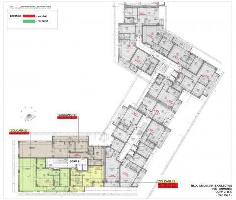 Plan etaj 7.