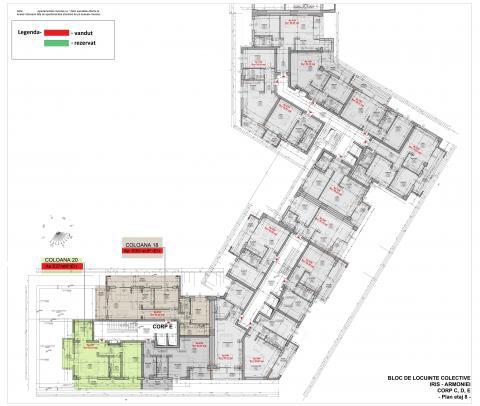 Plan etaj 8.