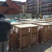 Aprovizionare centrale termice pt. toate cele 96 de apartamente