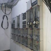 Montare cutii pt contoarele electrice