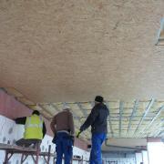 Pregatire tavane parter pentru placare cu polistiren